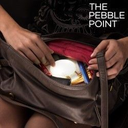 Luz LED Inteligente para Bolsos The Pebble Point