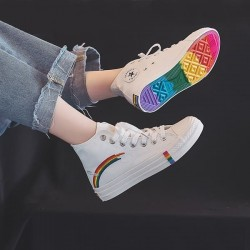 "Zapatillas de Lona ""Rainbow"""